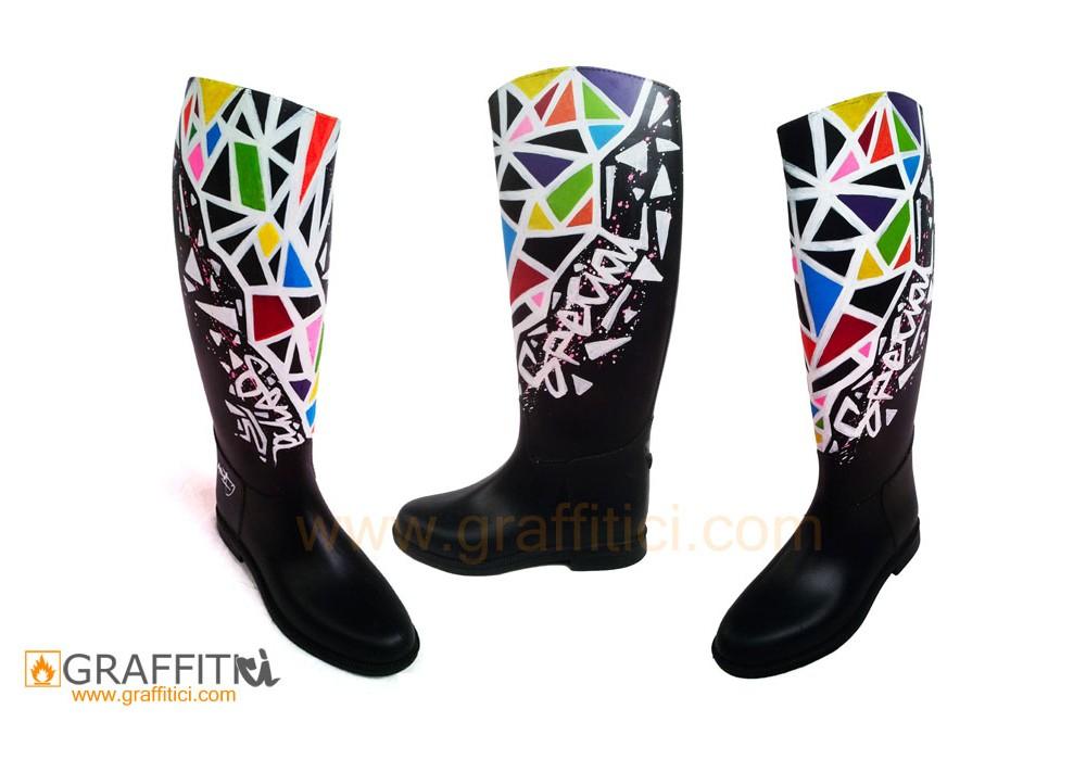 Ayakkabı_graffiti_boot_shoes_grafiti